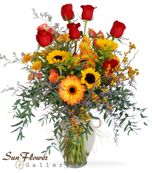 Fall Fairy Tale flowers in Kennilworth by Sun Flower Gallery