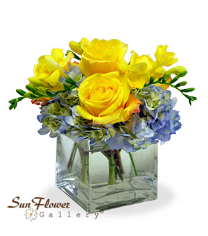 Smile get well flowers, summer flowers in Glenview