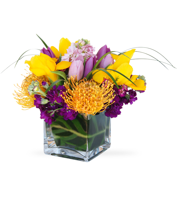 Bright As Spring flower arrangement